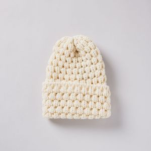 ニット帽 2805 BOBCAP オフホワイト / HIGHLAND 2000