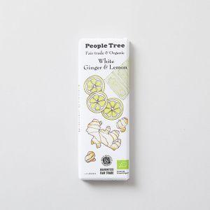 フェアトレードチョコレート ホワイト・ジンジャー&レモン People Tree/ピープルツリー