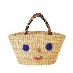 パティ草のスマイルミニバッグ
