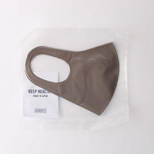 抗菌フィットマスク モカ