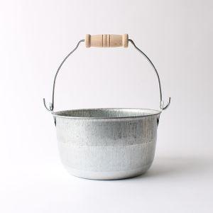松野屋 トタン豆バケツ 小