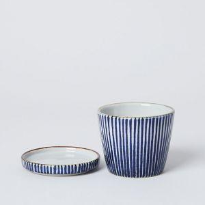 藍窯 × TODAY'S SPECIAL 十草 猪口と薬味皿