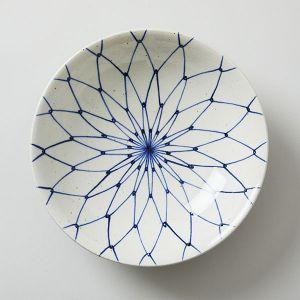 藍窯 × TODAY'S SPECIAL 7寸鉢 網目