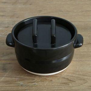 ごはんの鍋 2合 黒