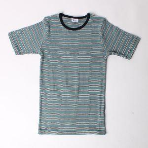 Robert P.Miller クルーネックTシャツ ブルー2