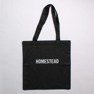 HOME STEADトートバッグ ブラック