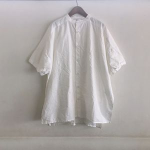 Side Open S/SLV Shirts ホワイト / Yarmo