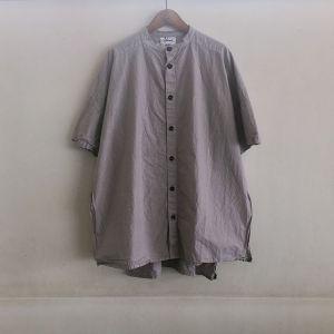Side Open S/SLV Shirts グレー / Yarmo