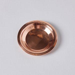 銅のコースター L