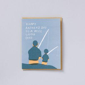 メッセージカード DAD reel good dad / egg press