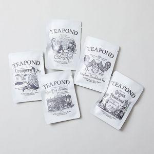 【5点SET】ティーバッグ5種 TEAPOND/ティーポンド