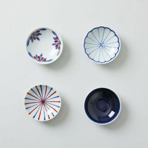 【4枚SET】豆皿 / 梅山窯