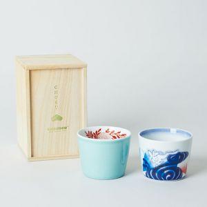 【GIFT SET】CHOKU 2種 桐箱入り / amabro