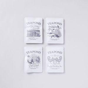【4種SET】ティーバッグ / TEAPOND