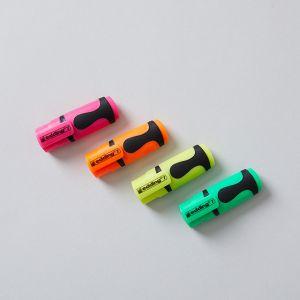 【ネコポス対応】【4色SET】蛍光 ミニマーカー / edding