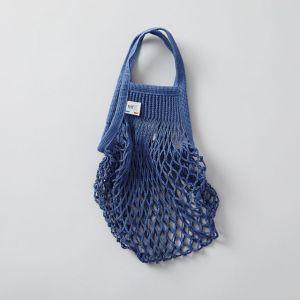 FILT/フィルト ネットバッグ S ブルー