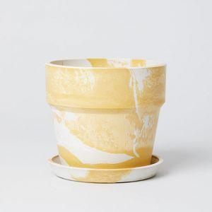 アーバンプランター イエロー × ホワイト