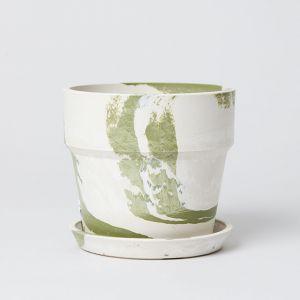 アーバンプランター グリーン × ホワイト