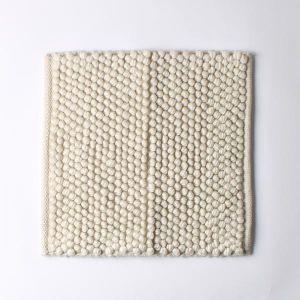 ループマット 40×40 ホワイト