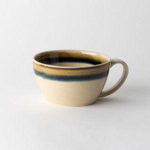 Folk design スープカップ 二色巻き