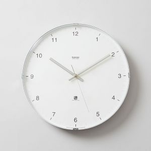 Lemnos/レムノス North clock ホワイト
