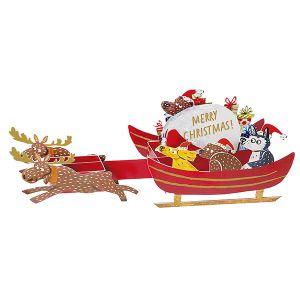 OKATAOKA クリスマストイポップアップカード