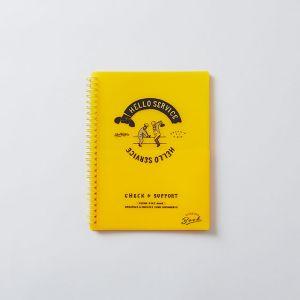 CHALKBOY/チョークボーイ ファイルケースブックA5 イエロー