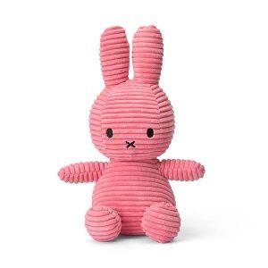 ミッフィー コーデュロイ ぬいぐるみ 23cm ピンク
