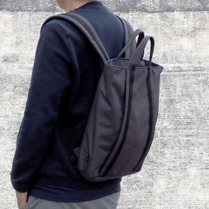 MHWAY BELL TOTE BACKPACK グレー