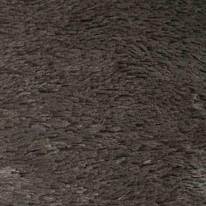 ケイシィ ラグマット 190×190 ブラウン
