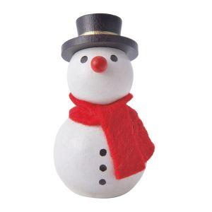 クリスマス 手のひら人形 スノーマン