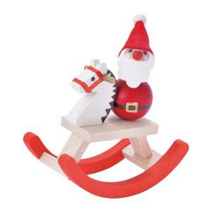 クリスマス 手のひら人形 木馬
