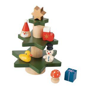 クリスマスミニオブジェ バランスツリー