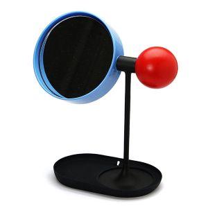 ボールデスクトップミラー ブルー