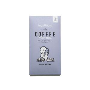 スヌーピー コーヒースティック 3本入 デカフェ
