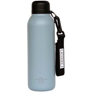 バキュームフラスク ステム ボトルリーシュ付 カデットブルー