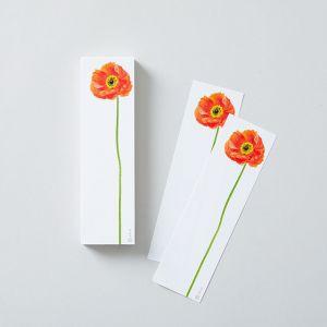 100 FlowersBlock ポピー paperable/ペパラブル