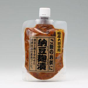 国産納豆麹漬