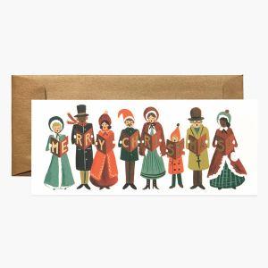 クリスマスカード クリスマスキャロル