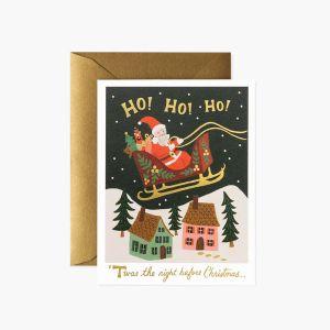 クリスマスカード サンタデリバリー
