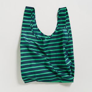 BAGGU Standard Bag ネイビー×アロエグリーン