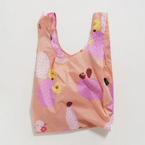 BAGGU Standard Bag ピンクカクタスフラワー