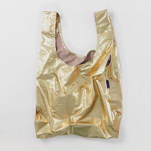 BAGGU Standard Bag ゴールドメタリック