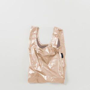 BAGGU Baby Bag メタリックピンクゴールド