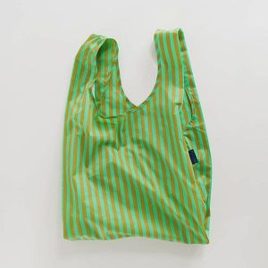 BAGGU Standard Bag グリーン×ブロンズ