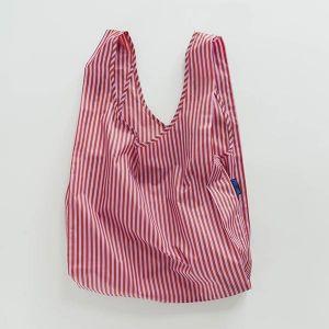 BAGGU Standard Bag チェリーレッド×ピンク