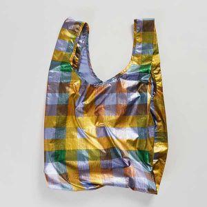 BAGGU Standard Bag メタリックマドラス