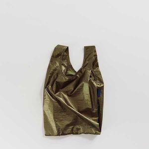 BAGGU Baby Bag メタリックブラス