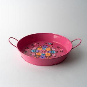 インド ハンドルトレイ S ピンク