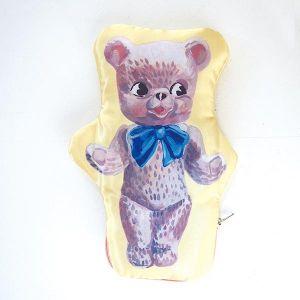 ナタリーレテ サテンポーチ BEAR
